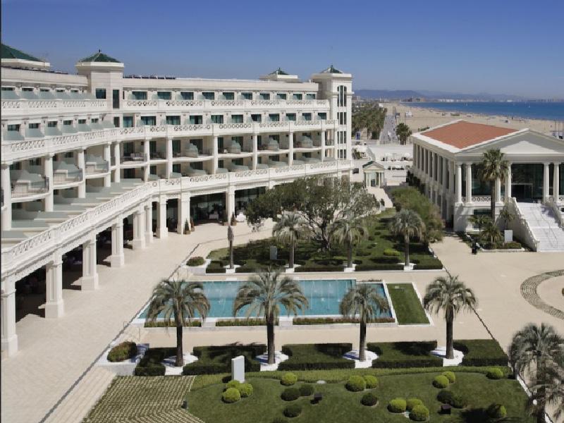 HOTEL LAS ARENAS 5 ESTRELLAS GRAN LUJO. Mejor hoteles de españa para viajar este verano por valencia