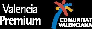 logo valencia premium y comunitat valenciana