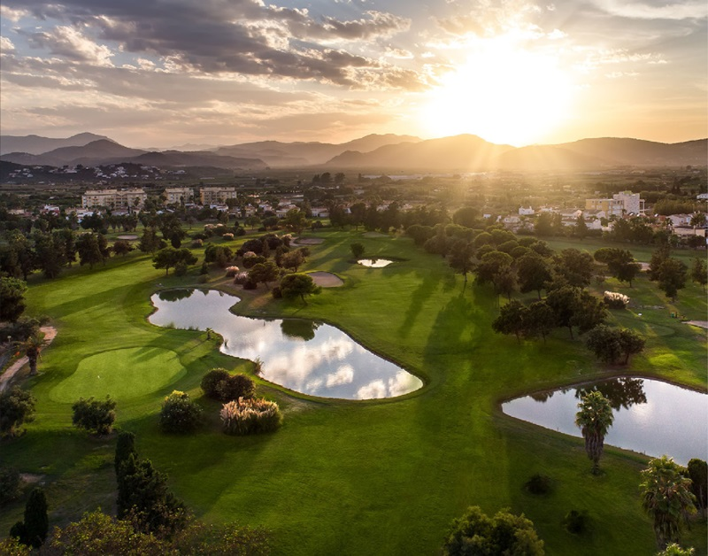 campo de golf oliva nova mejores campos de golf de españa.