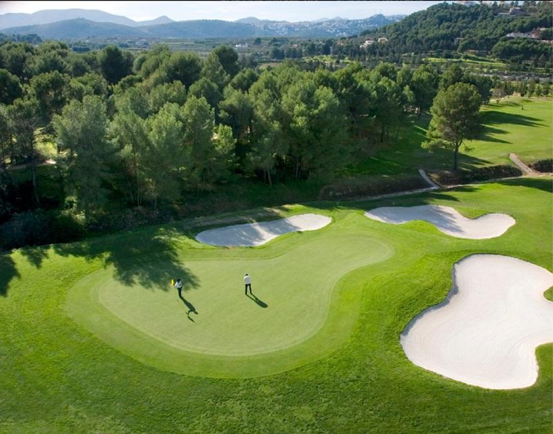 mejores campos de golf de españa. la sella campo de golf alto turismo
