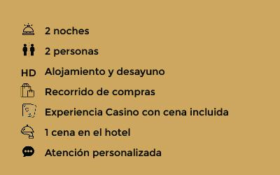 Para canjear bono turistico, Valencia Experience para dos